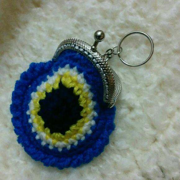d617826593017d Keychains and coin purses. NWT. handmade crochet